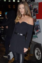 Nina Agdal - Arrives for the L'Avenue at Saks First Anniversary Event in NYC