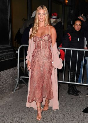 Nina Agdal at Sports Illustrated Swimsuit 2017 Launch Event in NY