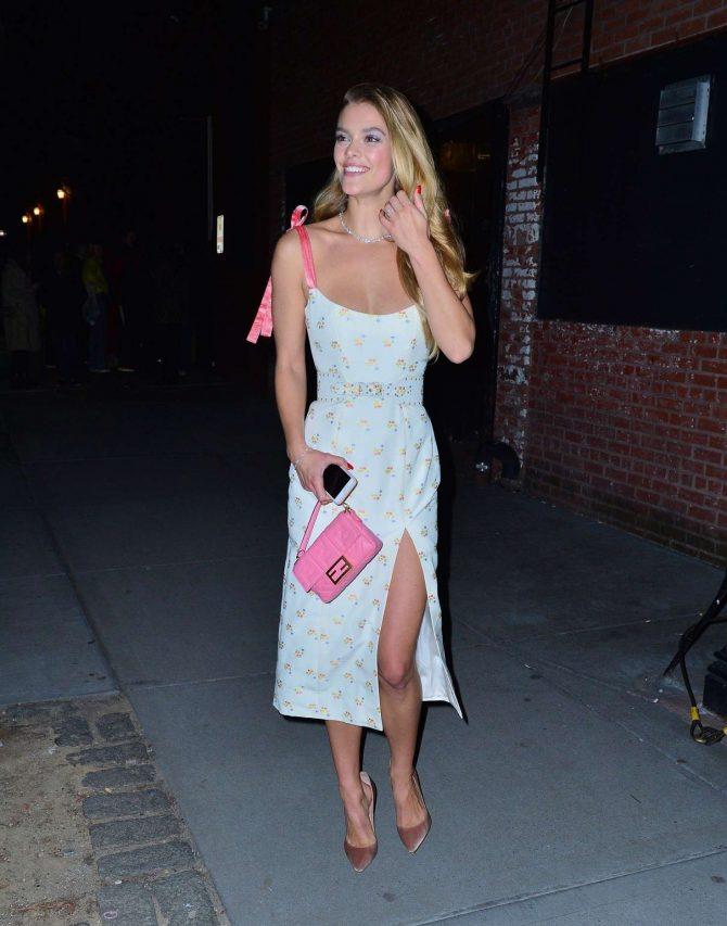 Nina Agdal: Attend the Tiffany & Co party -03