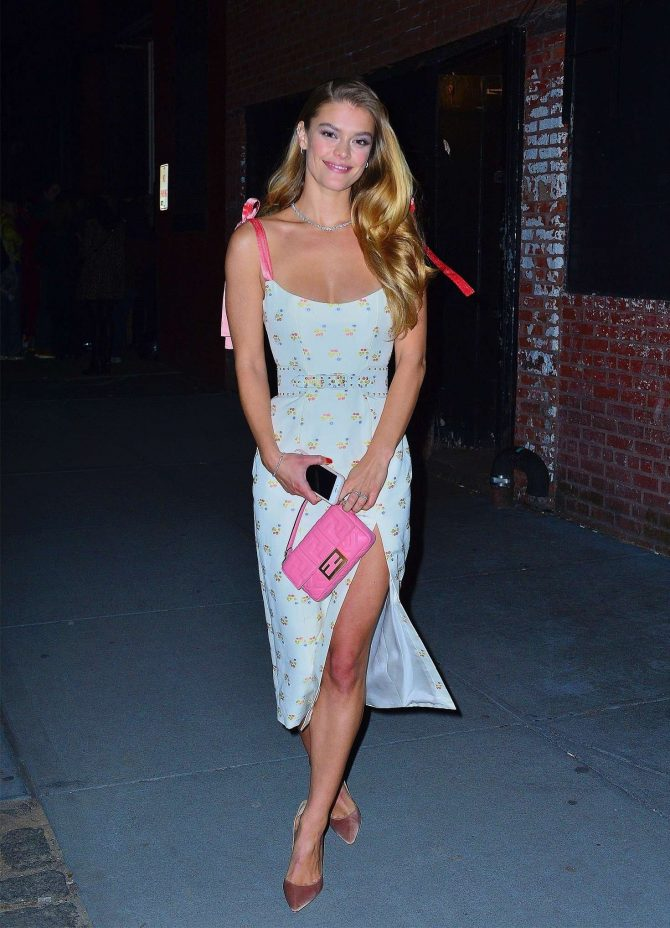 Nina Agdal 2019 : Nina Agdal: Attend the Tiffany & Co party -04