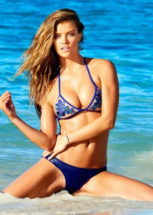 Nina Agdal - Beach Bunny Collection Spring 2015