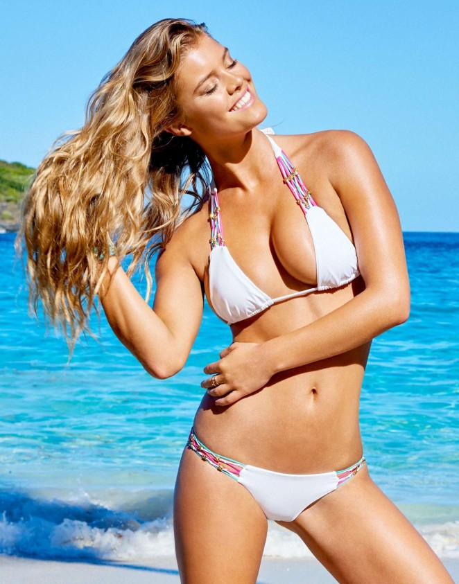 Nina Agdal – Beach Bunny Photoshoot (March 2015)