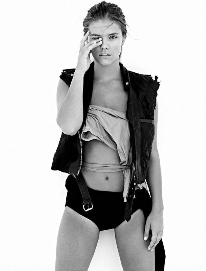 Nina Agdal 2016 : Nina Agdal: BeCool Magazine 2016 -08