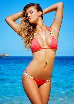 Nina Agdal - Bikini Beach Bunny Collection 2015