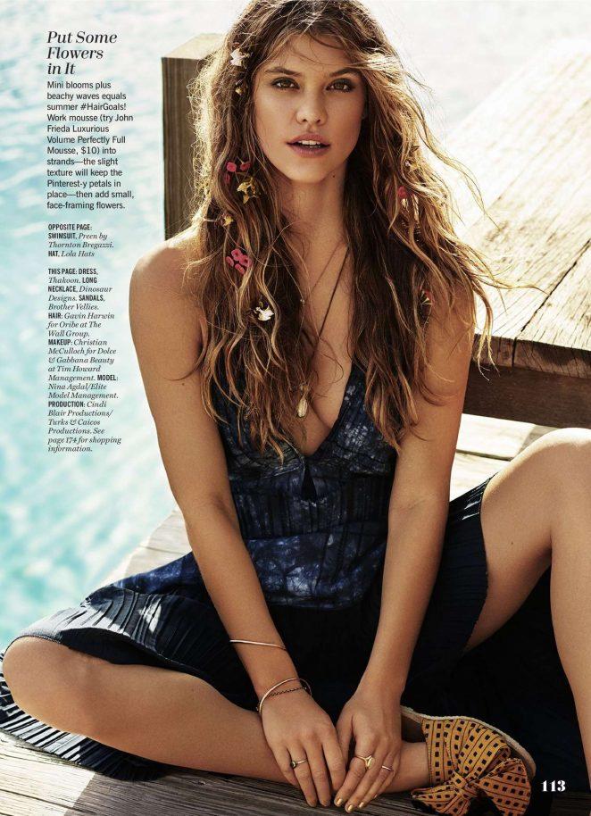 Nina Agdal - Cosmopolitan Magazine (July 2016)