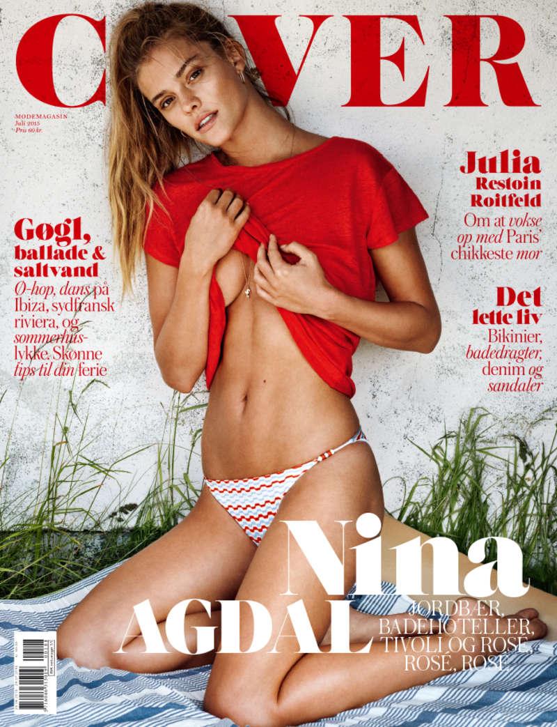 Nina Agdal: Cover Denmark 2015 -01