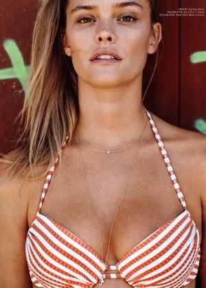 Nina Agdal - Cover DK Magazine (July 2015) adds
