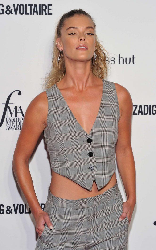 Nina Agdal - Daily Front Row's 2018 Fashion Media Awards in New York