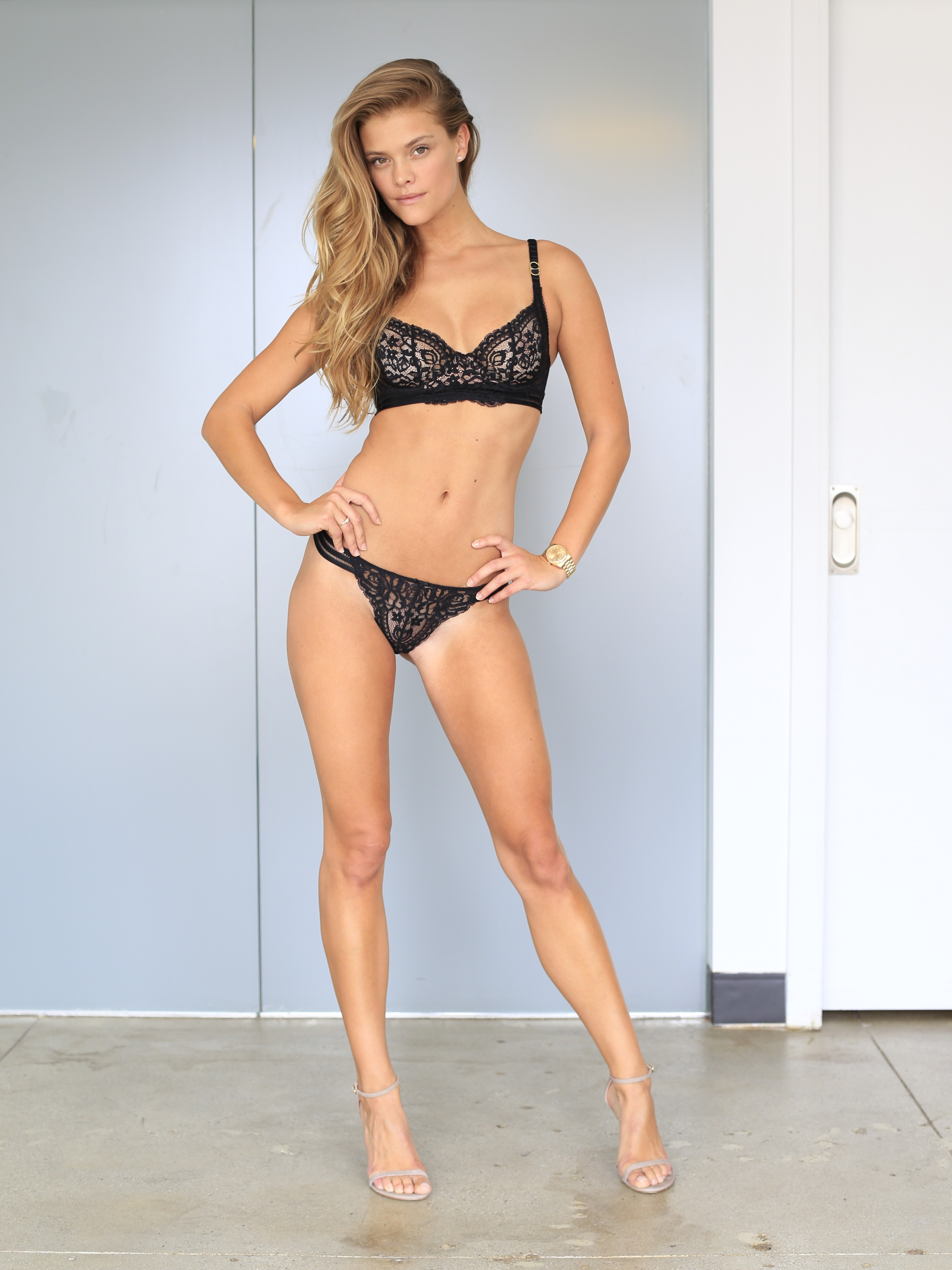 Nina Agdal: Elite Model Management Polaroids 2015 -04 - GotCeleb