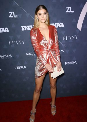 Nina Agdal - Footwear News Achievement Awards in NYC