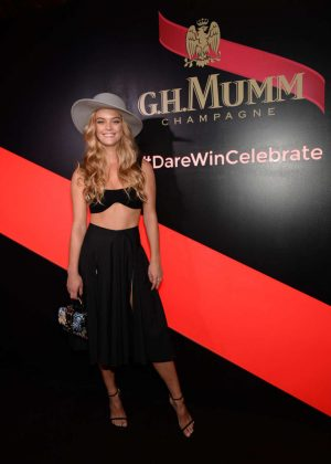 Nina Agdal - G.H. Mumm and Usain Bolt's Toast to the Kentucky Derby in NYC