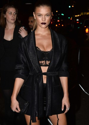 Nina Agdal - Harpers Bazaar ICONS Event in NY