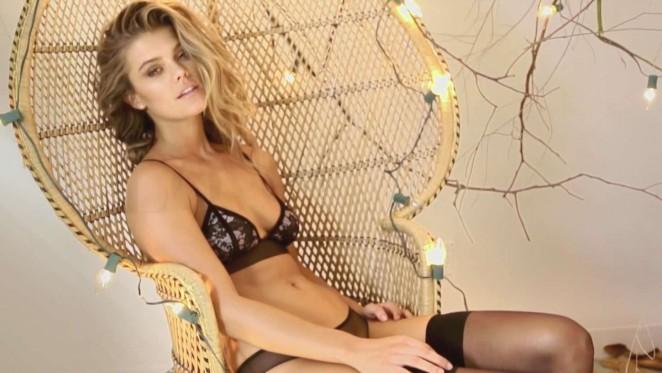 Nina Agdal: Holt Swimwear 2015 -10