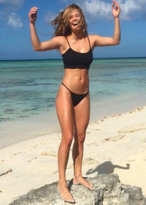 Nina Agdal in Bikini - Personal Pics