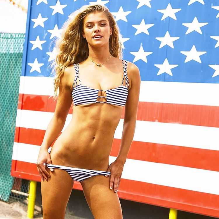 ... FULL gallery Nina Agdal in Bikini SI Swimsuit 2016 (Behind the Scenes