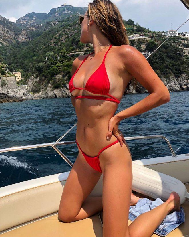 Nina Agdal in Bikini - Social Media Pics