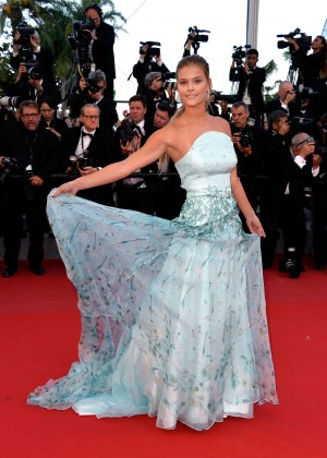 Nina Agdal - 'Inside Out' Premiere in Cannes