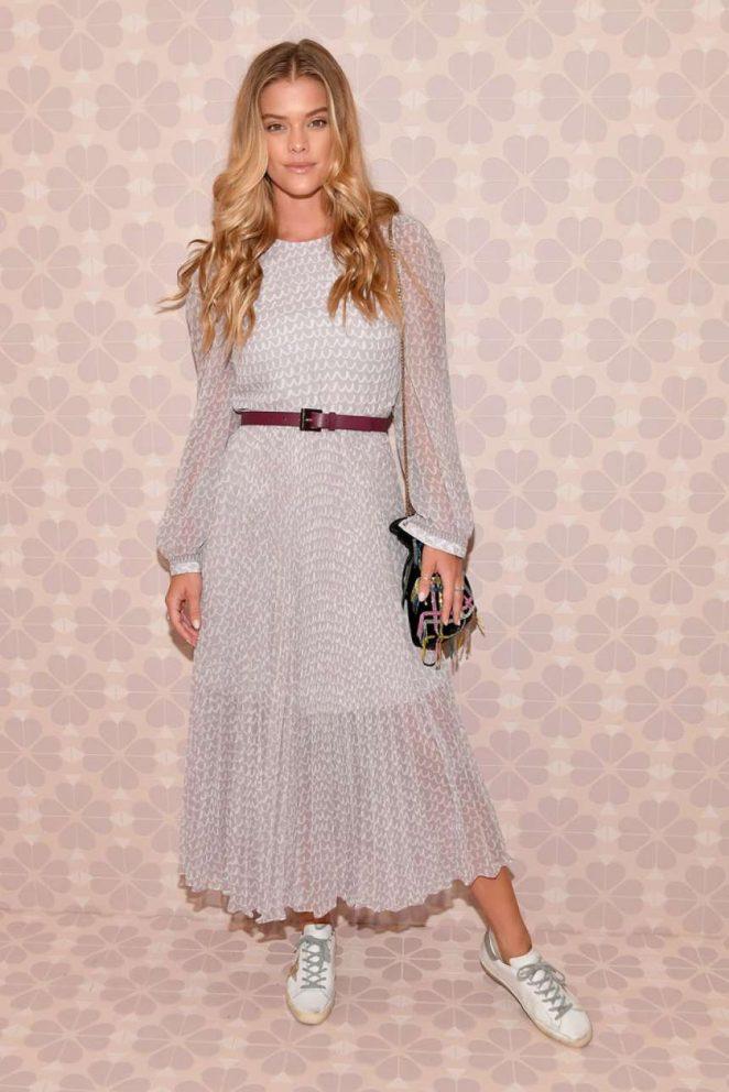 Nina Agdal - Kate Spade Fashion Show in NYC