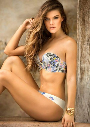 Nina Agdal - Leonisa Collection 2016