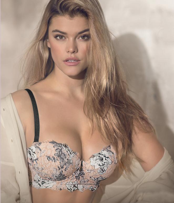 Nina Agdal - Leonisa Collection 2018