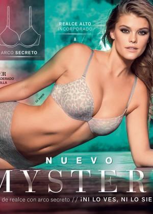 Nina Agdal - Leonisa Mistery 2015