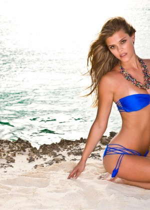Nina Agdal - Luli Fama Swimwear 2014 Photoshoot