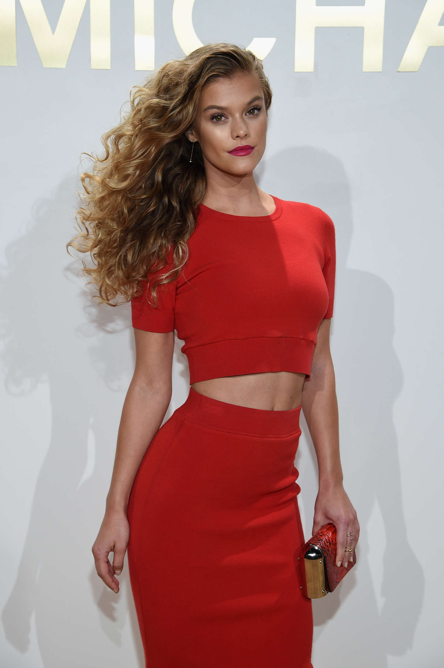 Nina Agdal: New Gold Collection Fragrance Launch -05