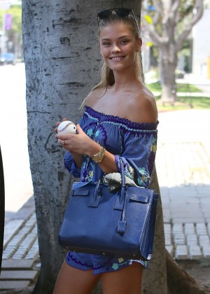 Nina Agdal - Out and about in LA