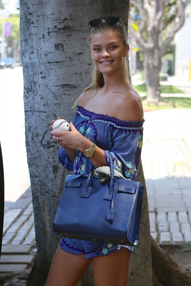 Nina Agdal – Out and about in LA