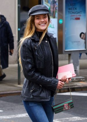 Nina Agdal - Out in New York City