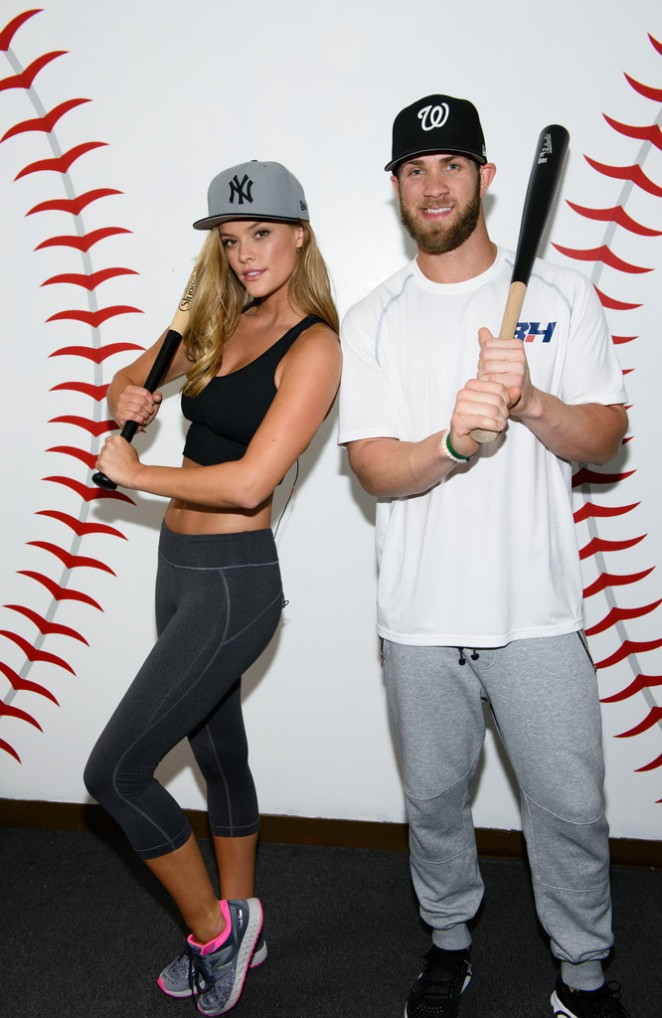 Nina Agdal - Pro Motions Baseball Academy in Fairfield