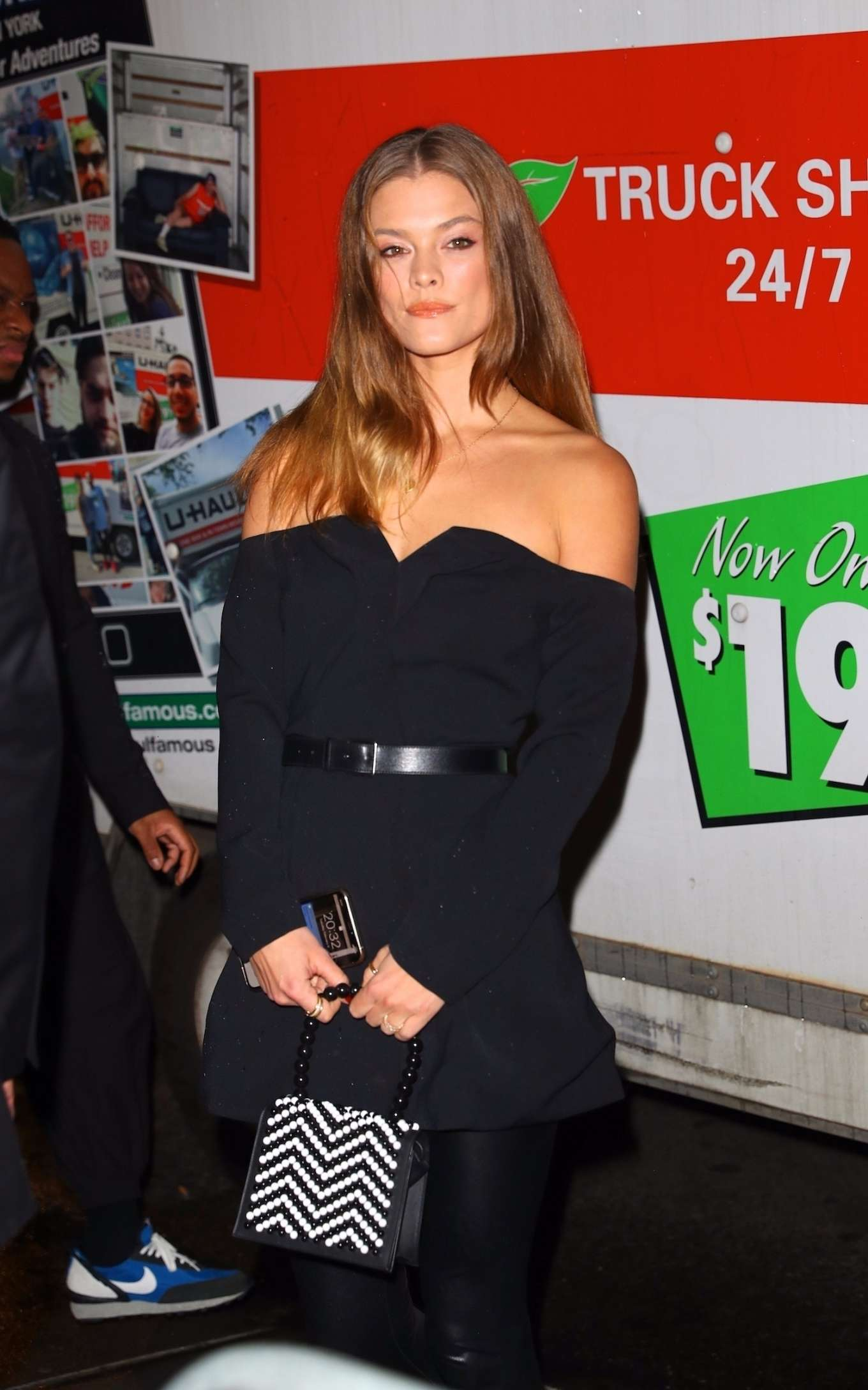 Nina Agdal - Saks Fifth Avenue Celebrates the First Anniversary of L'Avenue in NY