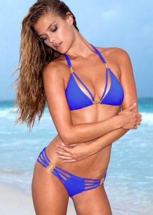 Nina Agdal - Sauvage Swimwear Photoshoot 2017