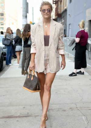 Nina Agdal - Seen At Spring Studios In New York