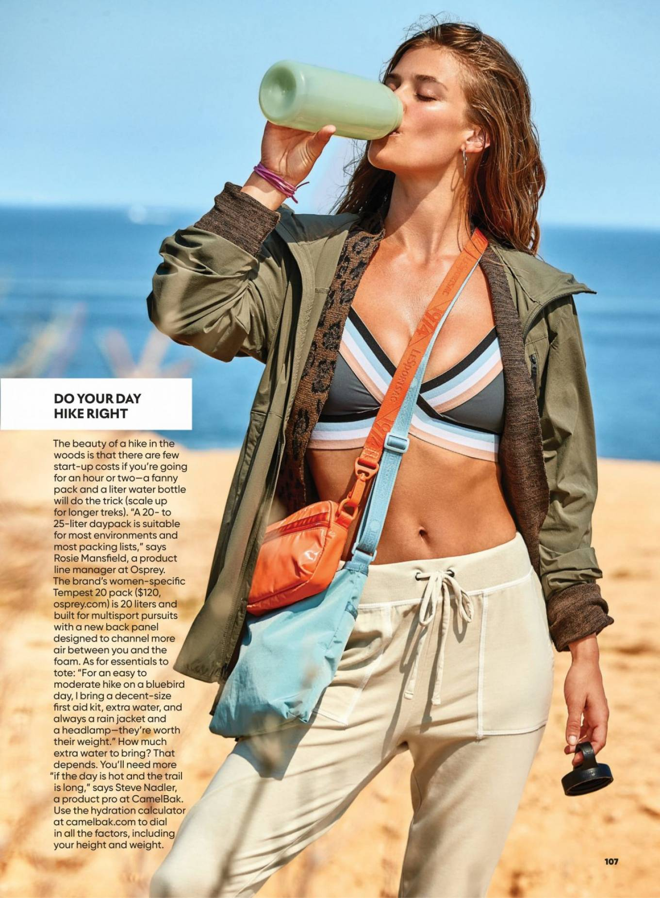 Nina Agdal - Shape Magazine (November 2020)