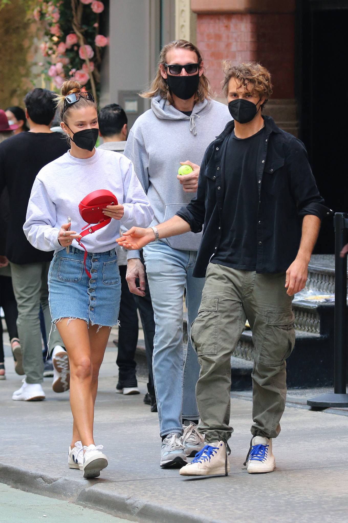 Nina Agdal 2021 : Nina Agdal – Shopping candids in Manhattans Soho area-04