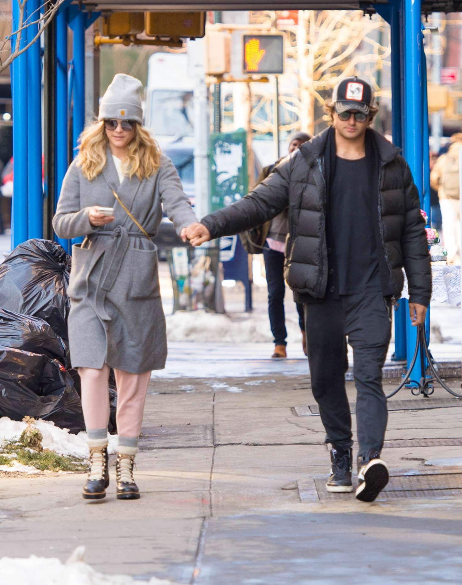 Nina Agdal 2018 : Nina Agdal: Shopping with boyfriend Jack Brinkley-Cook -06