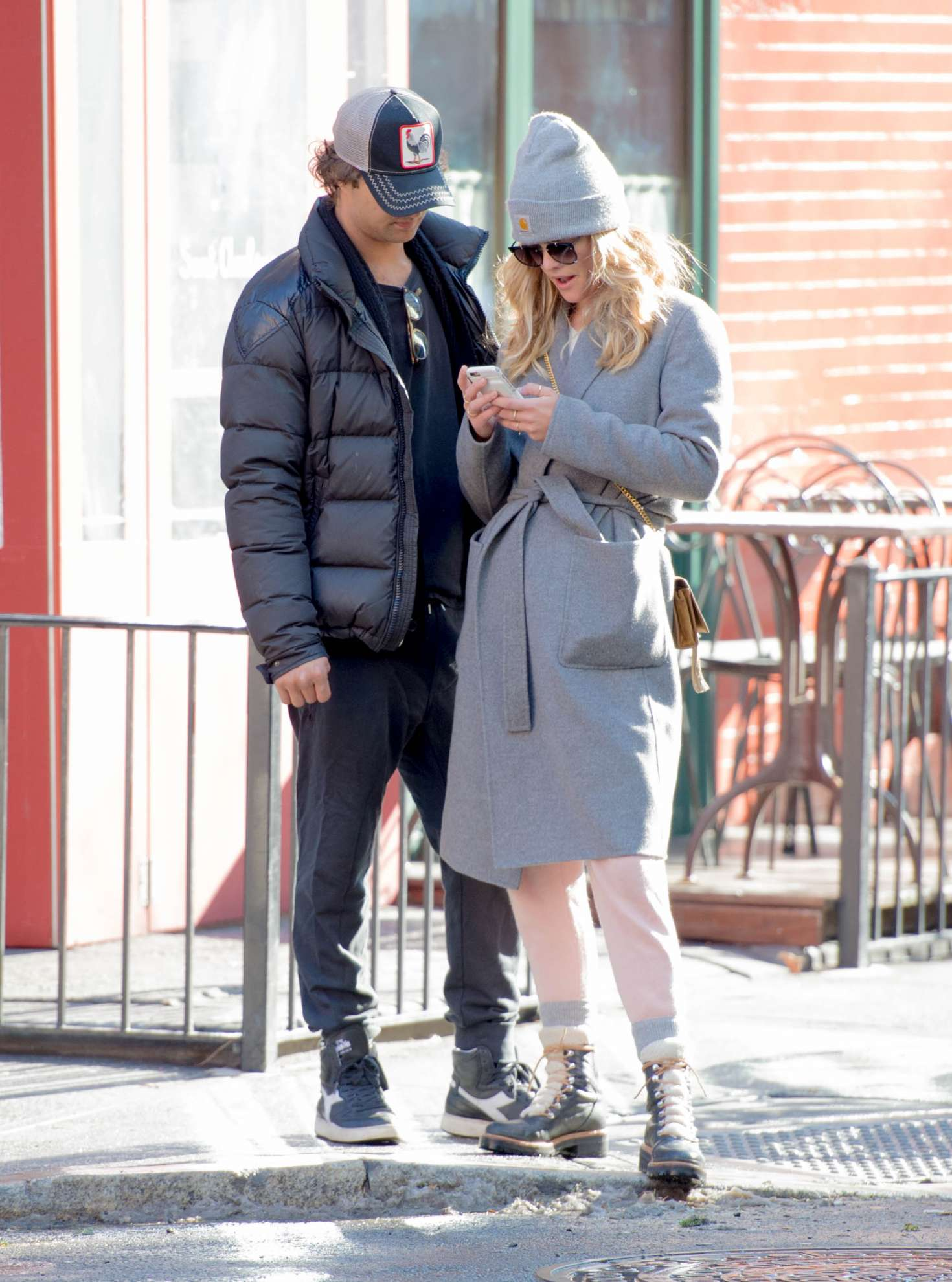 Nina Agdal 2018 : Nina Agdal: Shopping with boyfriend Jack Brinkley-Cook -10