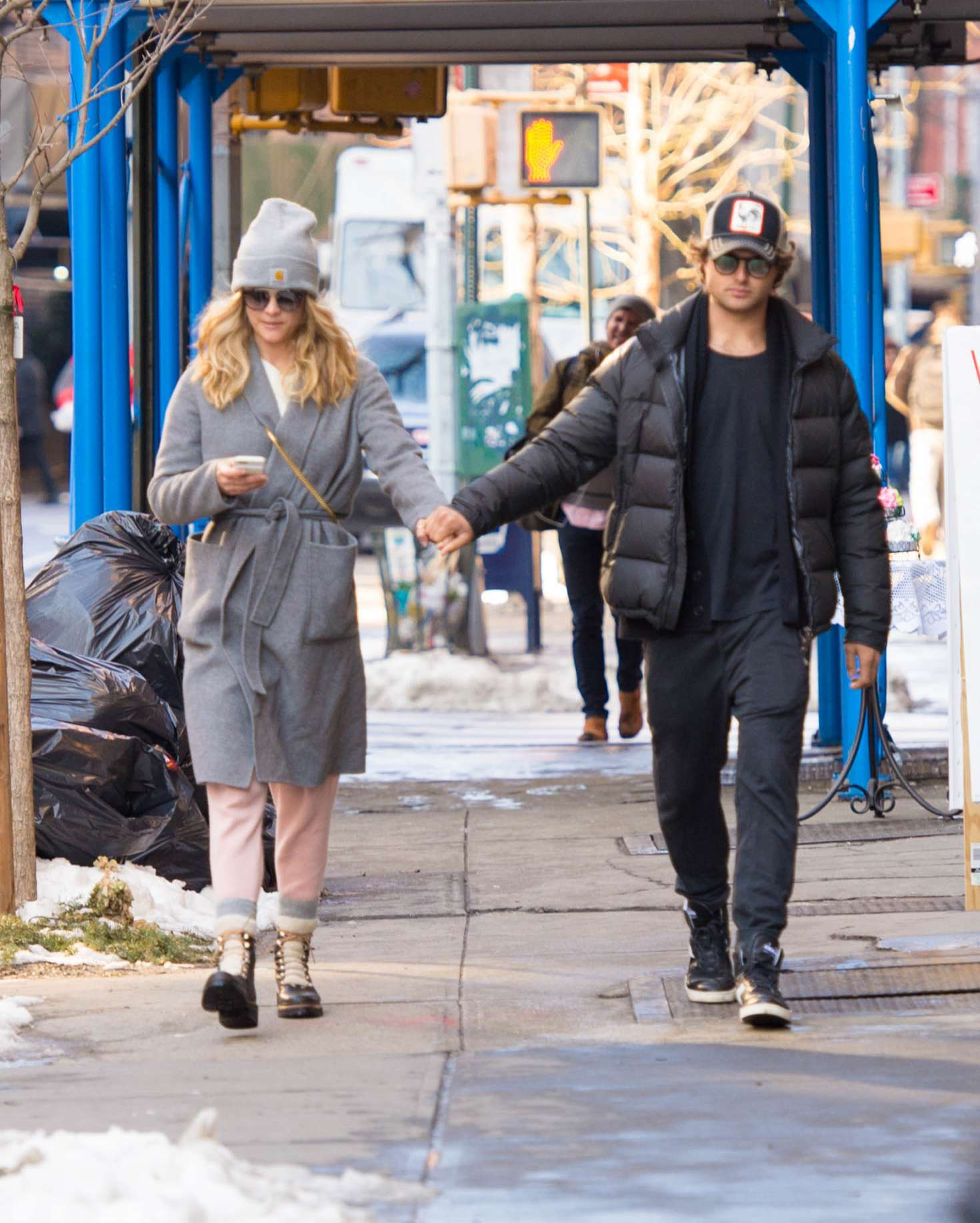 Nina Agdal 2018 : Nina Agdal: Shopping with boyfriend Jack Brinkley-Cook -12