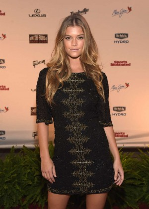 Nina Agdal - SI 2015 Swimsuit Takes Over the Schermerhorn Symphony Center in Nashville