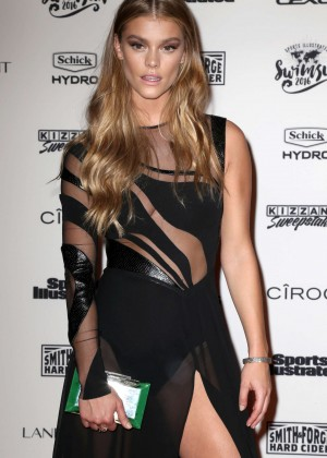 Nina Agdal - Sports Illustrated Celebrates Swimsuit 2016 VIP Red Carpet Event in NY