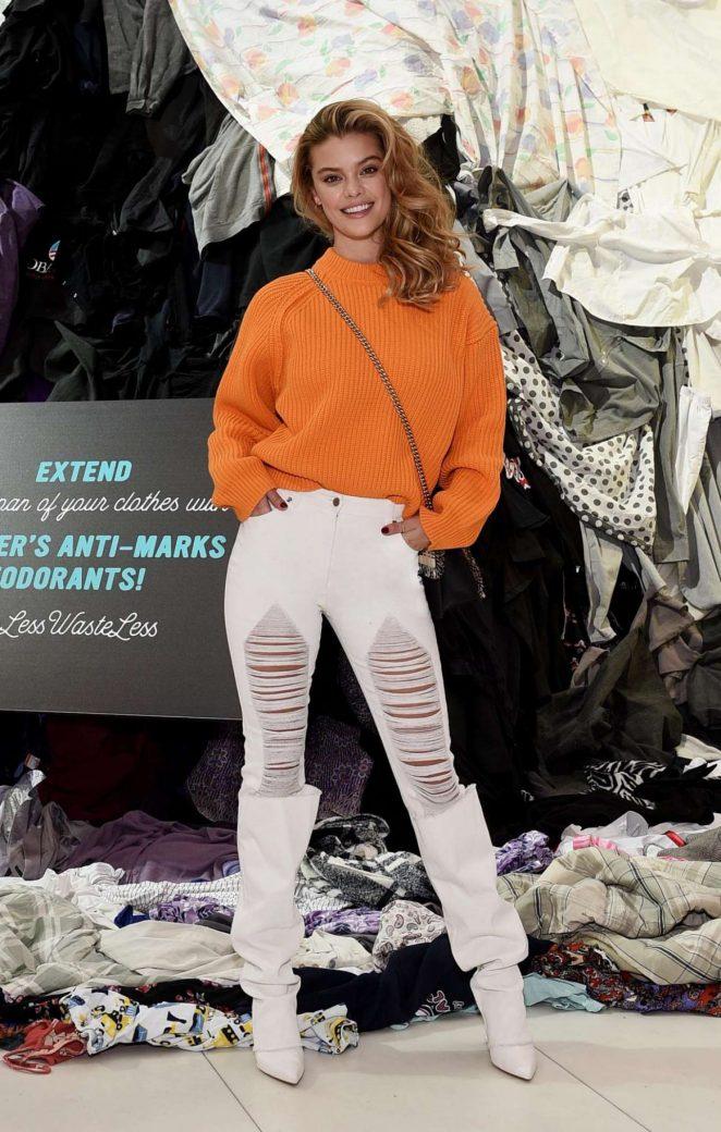 Nina Agdal - Unveils Unilever's Anti-Marks Deodoran in New York