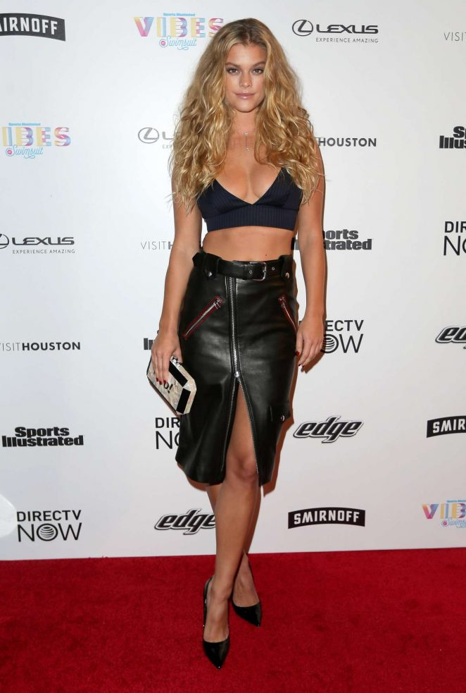 Nina Agdal - VIBES By Sports Illustrated Swimsuit 2017 Launch in Houston