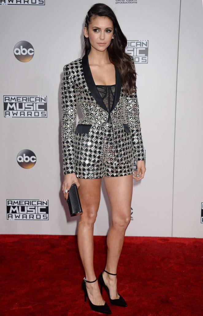Nina Dobrev - 2016 American Music Awards in Los Angeles