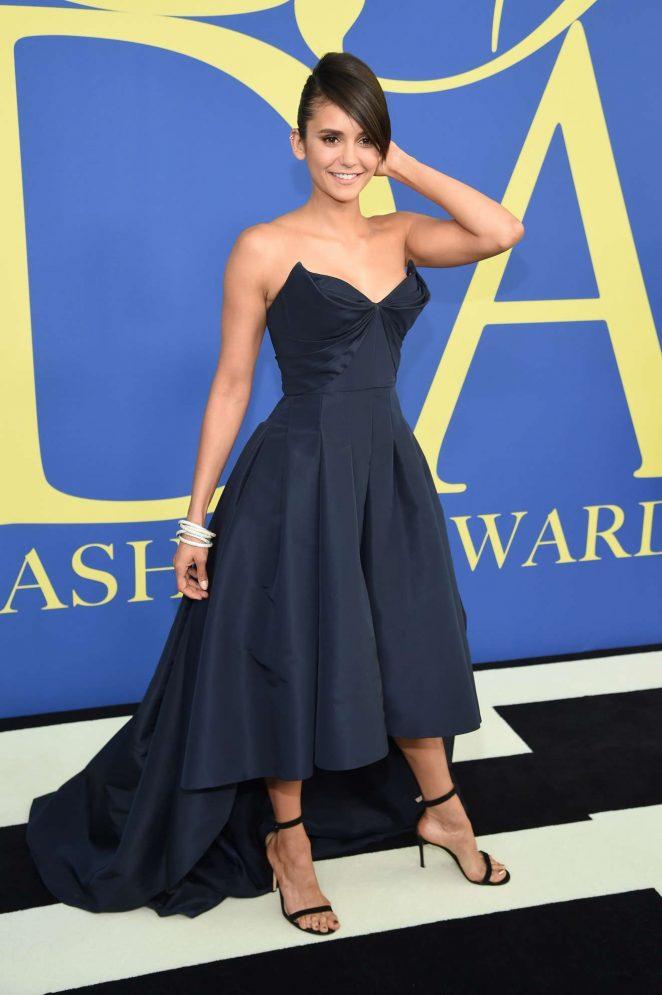 Nina Dobrev - 2018 CFDA Fashion Awards in Brooklyn