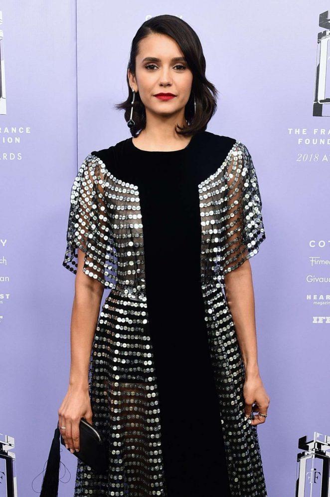 Nina Dobrev - 2018 Fragrance Foundation Awards in New York