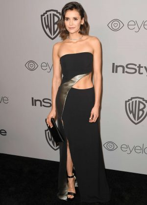 Nina Dobrev - 2018 InStyle and Warner Bros Golden Globes After Party in LA