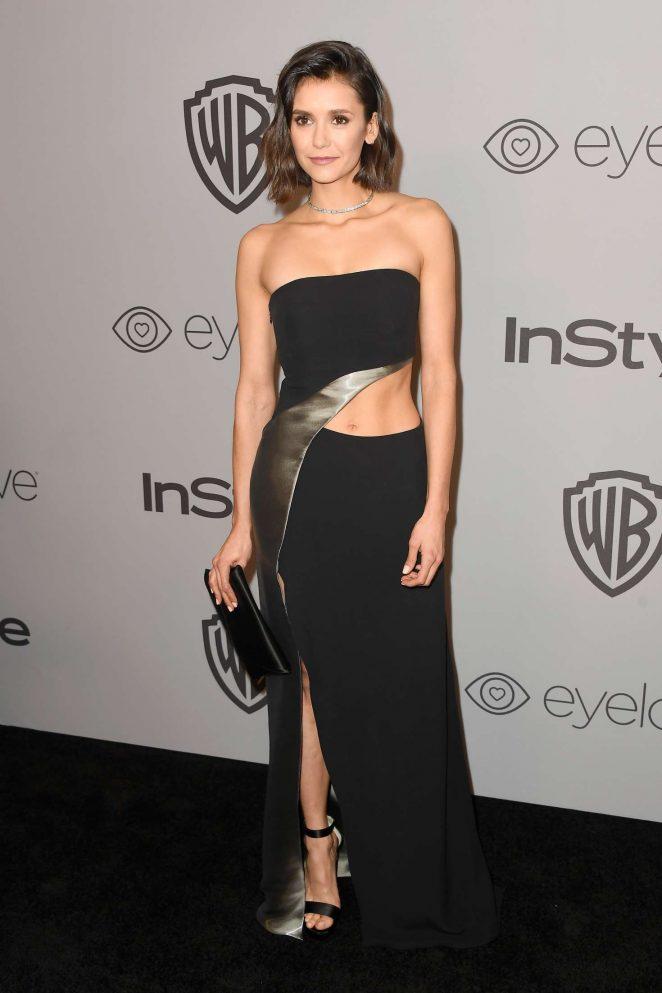 Nina Dobrev - 2018 InStyle and Warner Bros Golden Globes After Party in LA