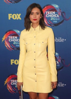 Nina Dobrev - 2018 Teen Choice Awards in Inglewood