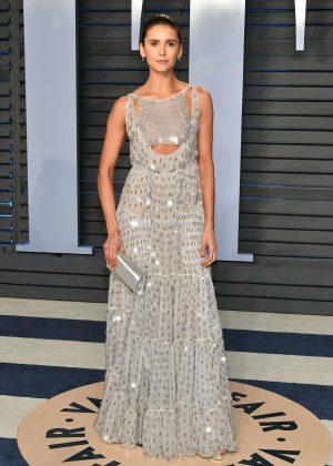 Nina Dobrev - 2018 Vanity Fair Oscar Party in Hollywood